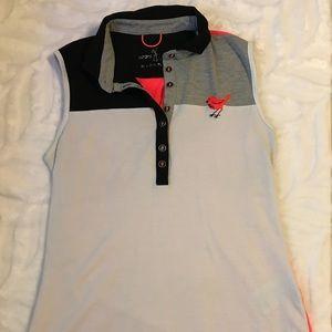 Boutique Sleeveless Ladies 🏌🏻♀️Golf Shirt - M